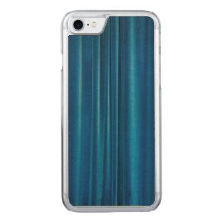 Blau drapiert carved iPhone 8/7 hülle
