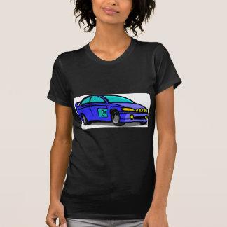 Blau eins T-Shirt