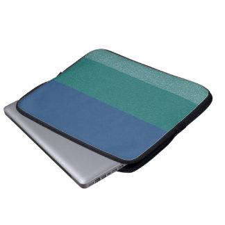 Blau färbt Glitter-Muster-Laptop-Hülse Laptop Sleeve
