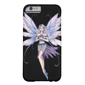 Blau flüstert Fantasie-Fee-Kunst Barely There iPhone 6 Hülle