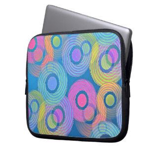Blau gemustert laptopschutzhülle