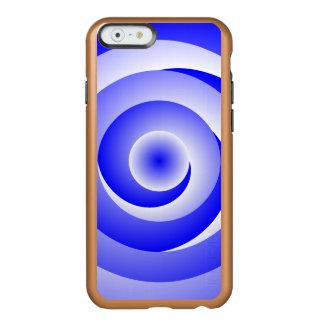 Blau-gewundene Illusion Incipio Feather® Shine iPhone 6 Hülle