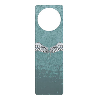 Blau-graue Flügel Türanhänger