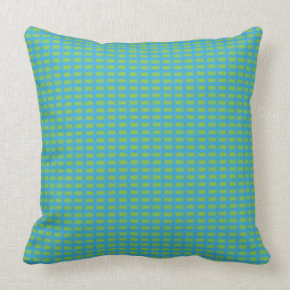 Blau-Grün-Snuggle-Akzent-Kissen Kissen