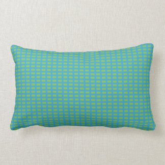 Blau-Grün-Snuggle-Akzent-Lumbal Lendenkissen