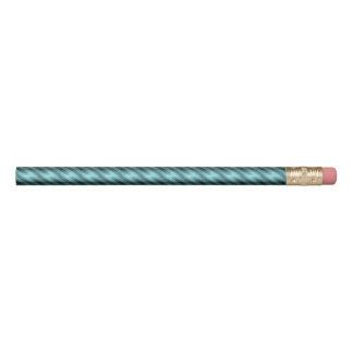 Blau grunged Streifen Bleistifte 0