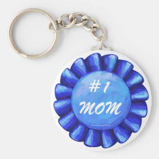Blau Keychain der Mamma-#1 Schlüsselanhänger