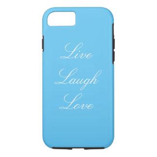 Blau-Livelachen-Liebe iPhone 7 Fall iPhone 7 Hülle