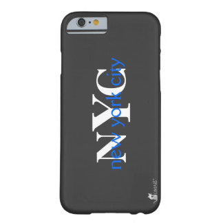 Blau-Logo New York City NYC Barely There iPhone 6 Hülle