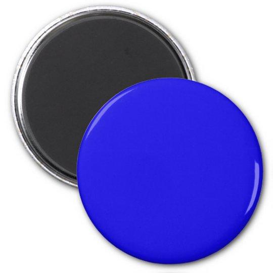 Blau Magnete Runder Magnet 5,7 Cm