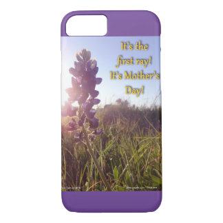 Blau-Mützen der Mutter Tages iPhone 7 Hülle