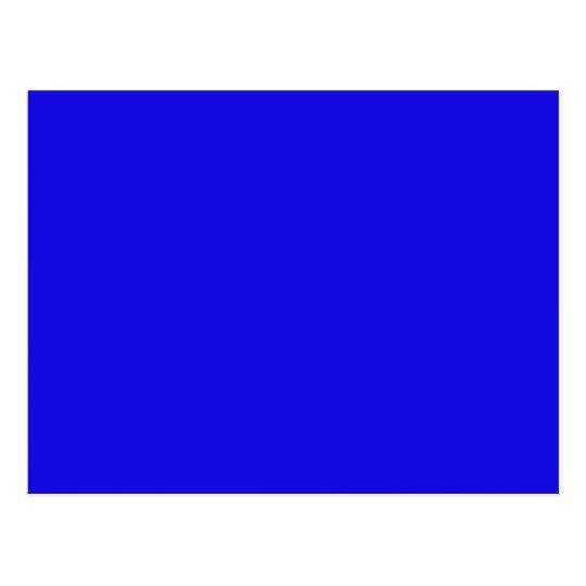 Blau Postkarte