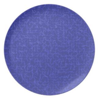 Blau Rauminhalt berechnet Teller