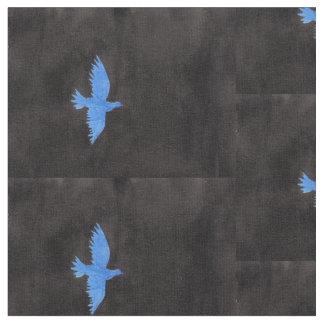 Blau-Tauben-Gewebe Stoff