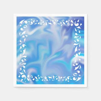 Blau träumt Serviette