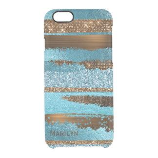Blau und Brown bezaubernder iPhone 6S Fall Durchsichtige iPhone 6/6S Hülle
