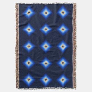 Blau und TAN-Diamant Decke