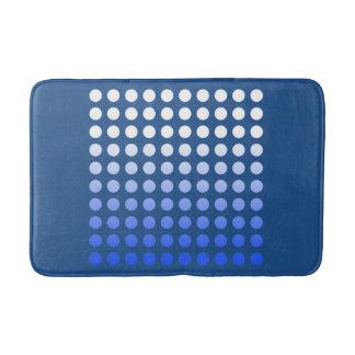 Blau verblaßt Tupfen-Muster-Bad-Matte Badematte