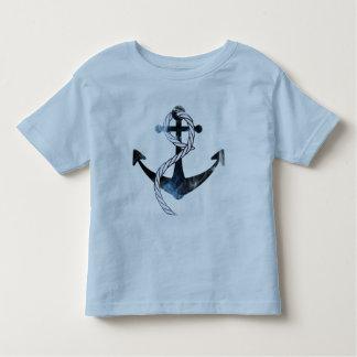 Blau versendet Anker Kleinkind T-shirt