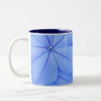 Blau Zweifarbige Tasse