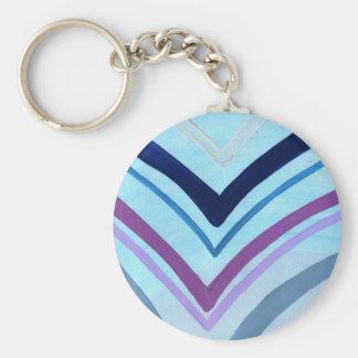 Blaubeerbrandung Schlüsselanhänger