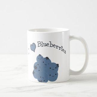Blaubeeren der Liebe I Kaffeetasse