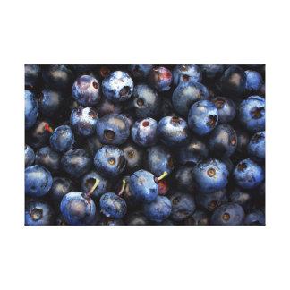 Blaubeeren Leinwanddruck