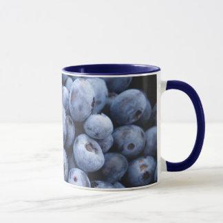 Blaubeerkaffee-Tasse Tasse