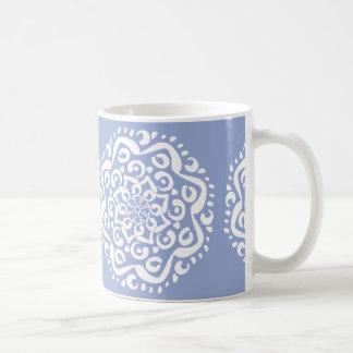BlaubeerMandala Kaffeetasse