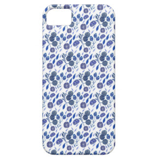 Blaubeerzerstampfung iPhone 5 Cover