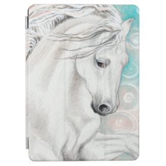 Blaue andalusische Pferde iPad Air Hülle