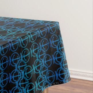 Blaue Anker-Motiv-nautischtischdecke Tischdecke
