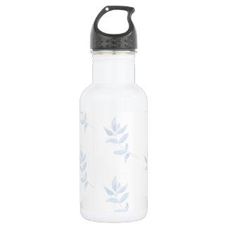 Blaue Aquarell-Niederlassung Edelstahlflasche