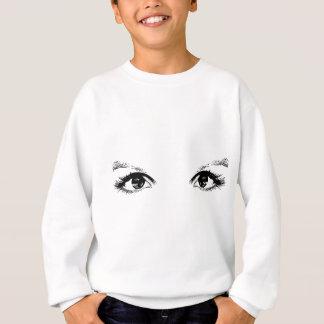 blaue Augen Sweatshirt