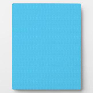 Blaue Beschaffenheits-Schatten-Schablone DIY Fotoplatte