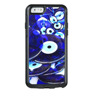 Blaue Blicksamulette OtterBox iPhone 6/6s Hülle