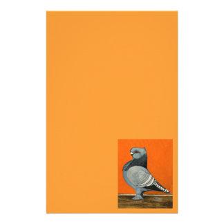 Blaue Blondinette Taube Briefpapier