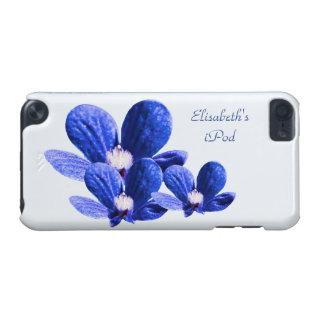 Blaue Blumen iPod Touch 5G Hülle