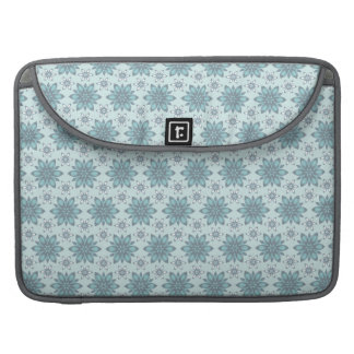 Blaue Blumen - Rickshaw Macbook Hülse Sleeve Für MacBook Pro