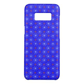 Blaue Blumenkreise Case-Mate Samsung Galaxy S8 Hülle
