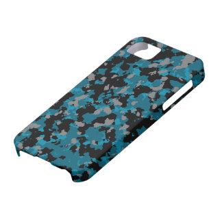 Blaue Camouflage iPhone 5 Abdeckung iPhone 5 Hülle