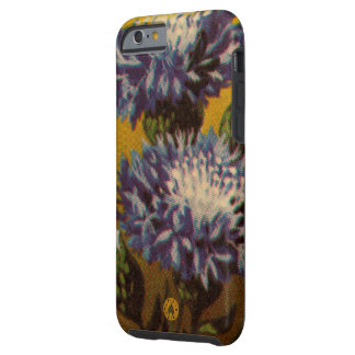 Blaue Chrysantheme Tough iPhone 6 Hülle