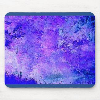 Blaue coole Natur Mousepads