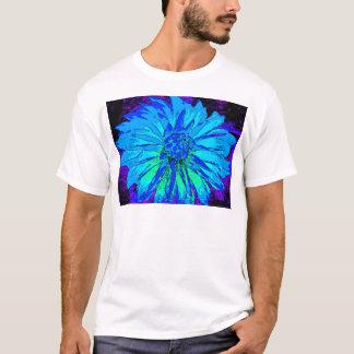 Blaue Dahlie T-Shirt