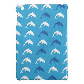 Blaue Delphine iPad Mini Hülle