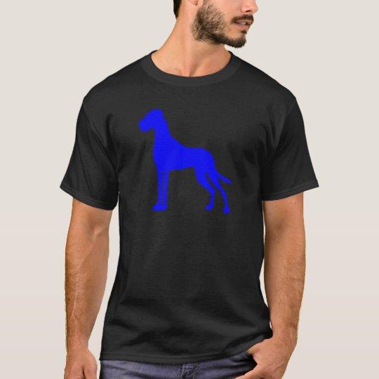 Blaue Deutsche Dogge T-Shirt