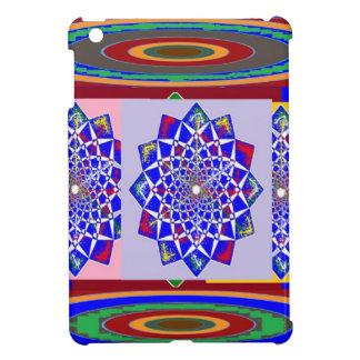 BLAUE DIAMANT Chakra Rad-Blume königlich iPad Mini Hülle