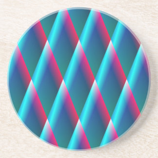 Blaue Diamanten Getränkeuntersetzer
