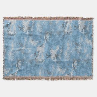 Blaue Digi Camouflage Decke