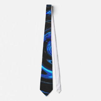 Blaue Digital-Kunst-Krawatte Personalisierte Krawatte